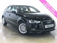 USED 2015 15 AUDI A3 1.6 TDI SE TECHNIK 5d 109 BHP 1 Owner/Nav/Bluetooth/DAB