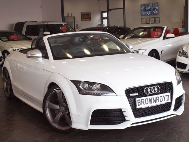 View our AUDI TT RS