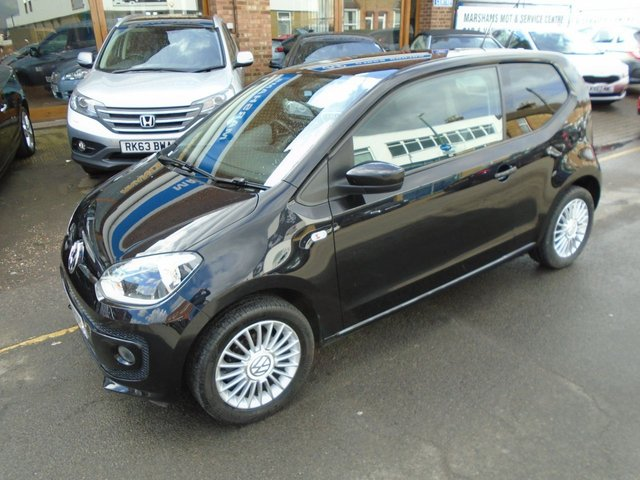 2014 14 VOLKSWAGEN UP 1.0 HIGH UP 3d 74 BHP