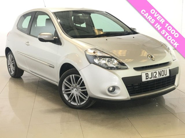 View our 2012 12 RENAULT CLIO 1.5 DYNAMIQUE TOMTOM DCI 3d 88 BHP