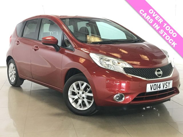 View our 2014 14 NISSAN NOTE 1.2 ACENTA PREMIUM 5d 80 BHP
