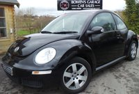 USED 2008 08 VOLKSWAGEN BEETLE 1.6 LUNA 8V 3d 101 BHP 2 Lady Owners - Low Miles - Service History - Air Con