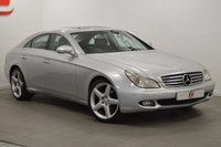 USED 2006 06 MERCEDES-BENZ CLS CLASS 3.0 CLS320 CDI 4d AUTO 222 BHP 19 INCH ALLOY WHEELS + SAT NAV + LEATHER