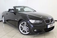 USED 2008 BMW 3 SERIES 3.0 325I M SPORT 2DR 215 BHP LEATHER SEATS + PARKING SENSOR + CRUISE CONTROL + MULTI FUNCTION WHEEL + 18 INCH ALLOY WHEELS
