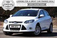 USED 2011 11 FORD FOCUS 1.6 TITANIUM 5d 124 BHP +++ FREE 6 months Autoguard Warranty included in screen price +++