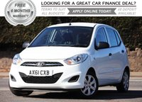 USED 2012 61 HYUNDAI I10 1.2 CLASSIC 5d 85 BHP +++ FREE 6 months Autoguard Warranty included in screen price +++