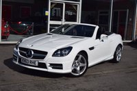 USED 2013 63 MERCEDES-BENZ SLK 1.8 SLK200 BLUEEFFICIENCY AMG SPORT 2d AUTO 184 BHP