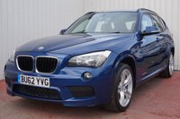 USED 2012 62 BMW X1 2.0 SDRIVE20D M SPORT 5d 181 BHP DEALER FULL SERVICE HISTORY