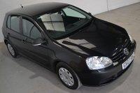 2007 VOLKSWAGEN GOLF 1.6 S FSI 5d 114 BHP £2250.00