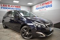 USED 2014 64 PEUGEOT 308 1.6 E-HDI FELINE 5d 114 BHP Free Tax, Panoramic roof, Xenons, Sat Nav, Half leather