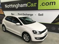 2014 VOLKSWAGEN POLO 1.4 MATCH EDITION 5d 83 BHP £6995.00