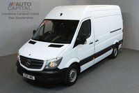 USED 2015 15 MERCEDES-BENZ SPRINTER 2.1 313 CDI 129 BHP MWB LOW ROOF ONE OWNER FROM NEW, FULL SERVICE HISTORY
