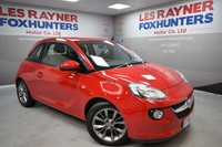USED 2015 65 VAUXHALL ADAM 1.2 JAM 3d 69 BHP 1 owner, Great MPG, Low Insurance group, Bluetooth