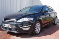 USED 2012 62 FORD MONDEO 1.6 ZETEC BUSINESS EDITION TDCI 5d 114 BHP £30 PER YEAR ROAD TAX