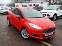 USED 2014 14 FORD FIESTA 1.0 TITANIUM 5d 99 BHP ONE Owner FULL Service History
