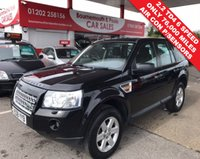 2008 LAND ROVER FREELANDER 2.2 TD4 GS 5d 159 BHP £7995.00