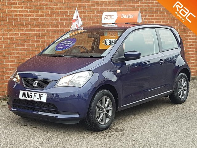 2016 16 SEAT MII 1.0 I-TECH 3d   -- ONLY 790 MILES --