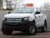 2014 FORD RANGER 2.2 XL 4X4 DCB TDCI 1d 123 BHP CREW CAB £10250.00