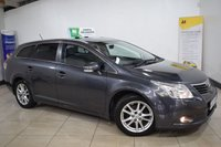 USED 2010 10 TOYOTA AVENSIS 2.0 TR D-4D 5d 125 BHP