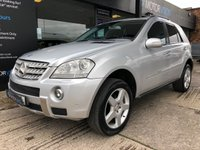 USED 2007 07 MERCEDES-BENZ M CLASS 3.0 ML320 CDI SPORT 5d AUTO 222 BHP Fully loaded, AMG KIT, Leather, Satnav