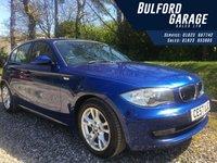 2007 BMW 1 SERIES 1.6 116I SE 5d 114 BHP £4694.00