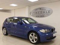 2007 BMW 1 SERIES 1.6 116I SE 5d 114 BHP £3895.00
