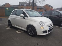 USED 2014 64 FIAT 500 1.2 S 3d 69 BHP CHEAP TO RUN,LOW INSURANCE AND VERY ECONOMICAL BUT WITH VERY HIGH SPECIFICATION INCLUDING LEATHER TRIM , TFT DIGITAL DISPLAY, AND ALLOY WHEELS!.EXCELLENT FUEL ECONOMY AND LOW CO2 EMISSIONS. ONLY £30 ROAD TAX. VERY LOW MILEAGE WITH ONLY 7387 MILES!