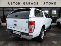 USED 2015 15 FORD RANGER 2.2 LIMITED 4X4 DCB TDCI 148 BHP ** LEATHER * FSH * +VAT ** ** LEATHER * CRUISE * FSH **