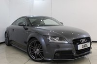 USED 2013 13 AUDI TT 2.0 TDI QUATTRO BLACK EDITION 2DR 168 BHP FULL SERVICE HISTORY + HEATED LEATHER SEATS + CRUISE CONTROL + PARKING SENSOR + MULTI FUNCTION WHEEL + AIR CONDITIONING + 19 INCH ALLOY WHEELS