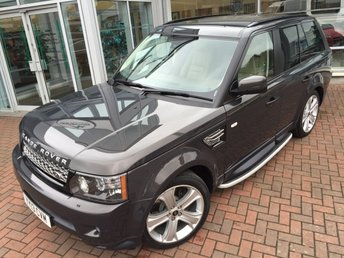 2013 LAND ROVER RANGE ROVER SPORT 3.0 SDV6 HSE BLACK EDITION 5d AUTO 255 BHP £26500.00