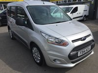 2014 FORD TOURNEO CONNECT 1.6 ZETEC TDCI 5d 94 BHP IN SILVER WITH ONLY 36000 MILES £9490.00