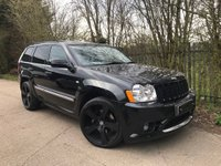 2007 JEEP GRAND CHEROKEE 6.1 SRT8 5d AUTO 420 BHP £14995.00