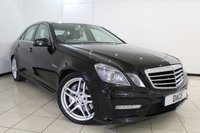 "USED 2011 11 MERCEDES-BENZ E 63 AMG 6.2 E63 AMG 4DR AUTOMATIC 525 BHP HEATED/COOLED LEATHER SEATS + 1 OWNER FROM NEW + SAT NAVIGATION + DOUBLE SUNROOF + PARKING SENSOR + BLUETOOTH + CRUISE CONTROL + MULTI FUNCTION WHEEL + CLIMATE CONTROL + AMG 19"" DOUBLE-SPOKE WHEELS"