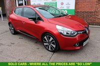 USED 2014 14 RENAULT CLIO 1.5 DYNAMIQUE S MEDIANAV ENERGY DCI S/S 5d 90 BHP +FREE Tax +SAT NAV +Serviced.