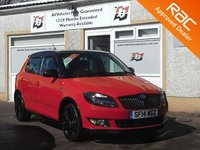 USED 2014 14 SKODA FABIA 1.6 MONTE CARLO TDI CR 5d 105 BHP 4 Service Stamps - Aux & USB Port - Rear tinted glass