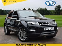 USED 2011 61 LAND ROVER RANGE ROVER EVOQUE 2.2 SD4 PRESTIGE 5d AUTO 190 BHP Just 2 lady keepers from new for this 2011 Range Rover Evoque 2.2 SD4 PRESTIGE 4WD AUTO in black priced at just £18499 including an independent AA inspection.