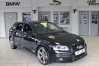 USED 2011 11 AUDI A3 2.0 SPORTBACK TDI QUATTRO S LINE SPECIAL EDITION 5d 168 BHP HALF LEATHER SEATS + FULL AUDI SERVICE HISTORY + XENON HEADLIGHTS + 19 INCH ALLOYS + TINTED WINDOWS + AIR CONDITIONING