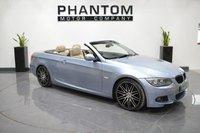 2011 BMW 3 SERIES 2.0 320D M SPORT 2d AUTO 181 BHP £12490.00