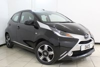 USED 2015 15 TOYOTA AYGO 1.0 VVT-I X-CLUSIV 5DR 69 BHP SERVICE HISTORY + BLUETOOTH + REVERSE CAMERA + CRUISE CONTROL + MULTI FUNCTION WHEEL + AUXILIARY PORT + 15 INCH ALLOY WHEELS