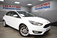 USED 2014 64 FORD FOCUS 1.6 ZETEC TDCI 5d 114 BHP Full Ford Service History, 1 Owner, DAB Radio, Bluetooth