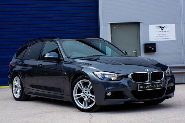 2013 63 BMW 3 SERIES 2.0 320D M SPORT TOURING AUTO (SAT NAV)