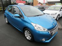 USED 2013 13 PEUGEOT 208 1.4 ACTIVE E-HDI 5d AUTO 68 BHP AUTO... DIESEL... FREE ROAD TAX... CALL 01543 379066