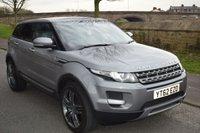 2012 LAND ROVER RANGE ROVER EVOQUE 2.2 SD4 PURE TECH 5d AUTO 190 BHP £16999.00