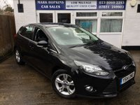 USED 2014 14 FORD FOCUS 1.6 ZETEC TDCI 5d 113 BHP 46K 1FAMILY OWNER 6 SPEED HIGH MPG ONLY £20/YR TAX EXCELLENT CONDITION