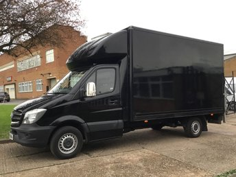 2015 MERCEDES-BENZ SPRINTER 2.1 316CDI LWB LUTON BOX 163BHP TAIL-LIFT. 1 OWNER. RARE VAN £13990.00