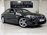 2013 BMW 5 SERIES 2.0 520D M SPORT 4d AUTO 181 BHP £14380.00