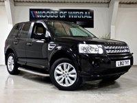 2012 LAND ROVER FREELANDER 2.2 SD4 HSE 5d AUTO 190 BHP £13980.00