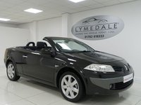 USED 2008 08 RENAULT MEGANE 1.6 DYNAMIQUE VVT 2d 110 BHP PANORAMIC ROOF, FULL HISTORY, MOT 14.5.19