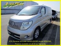 USED 2005 54 NISSAN ELGRAND 3.5 Highway Star Auto 8 Seat, BOSE, Power Door, Rear and Side Camera  +68K+BOSE+FRONT/REAR CAMERA+8 SEATS+