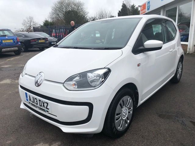 2013 13 VOLKSWAGEN UP 1.0 MOVE UP BLUEMOTION TECHNOLOGY 3d 59 BHP